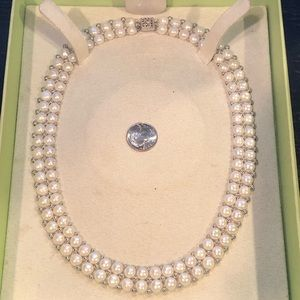 🔥🔥Sterling pearl bead necklace